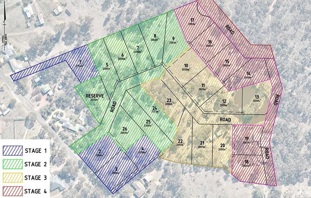 image of example subdivision plan